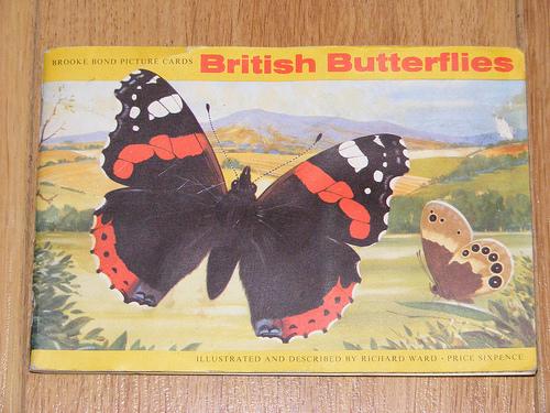 Brooke Bond Tea Butterfly Cards